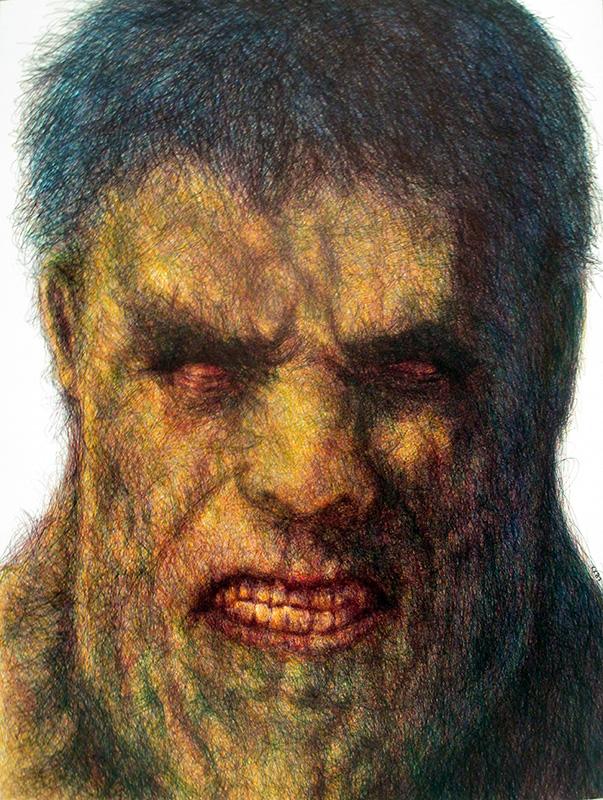Entité rouge : Hulk - Karl Beaudelere
