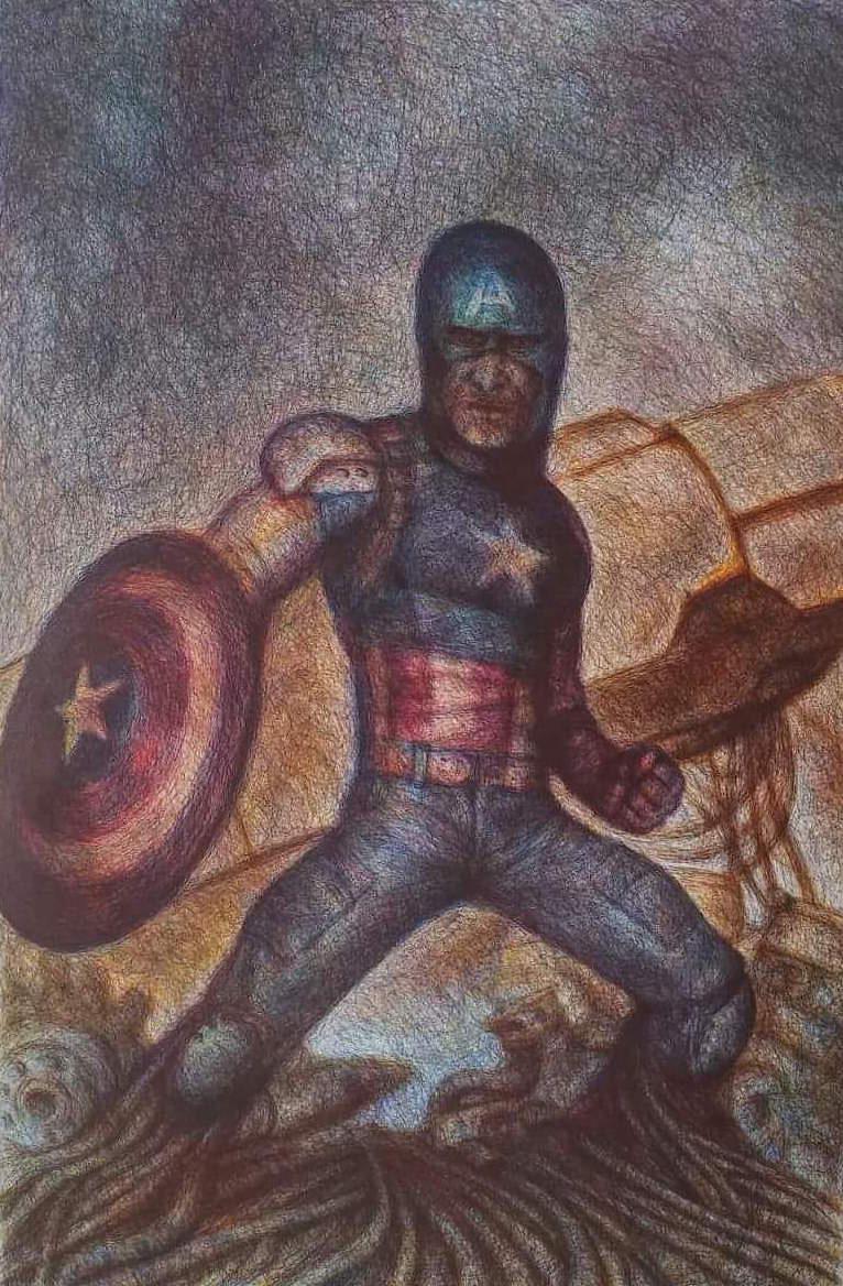 Captain America - Karl Beaudelere