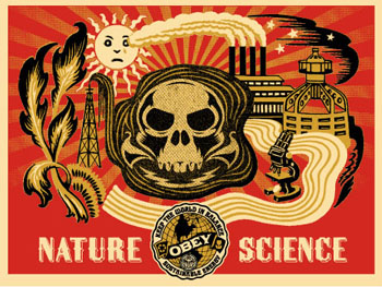 Naturescience gold - Shepard Fairey