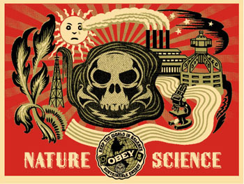 Naturescience green- Shepard Fairey