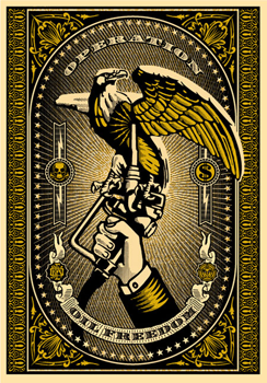 Oil freedom - Shepard Fairey