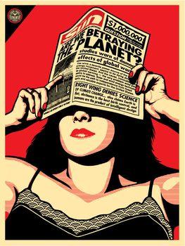 Global Warning - Shepard Fairey