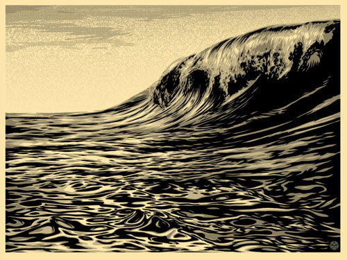 Dark Wave Cream - Shepard Fairey