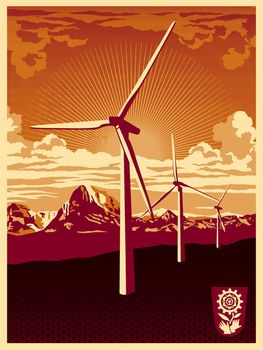 Obey Windmill - Shepard Fairey