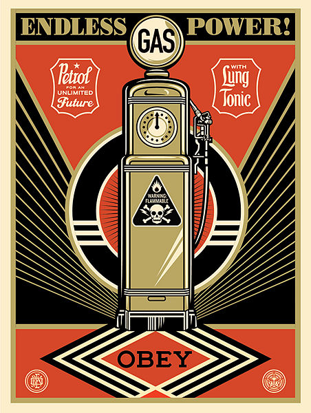 Endless Power - Shepard Fairey