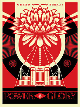 Green Power - Shepard Fairey