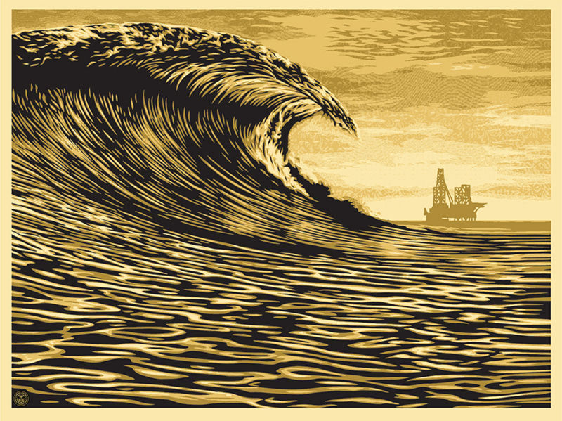 This New Wave Is A Little Slick For My Taste - Shepard Fairey