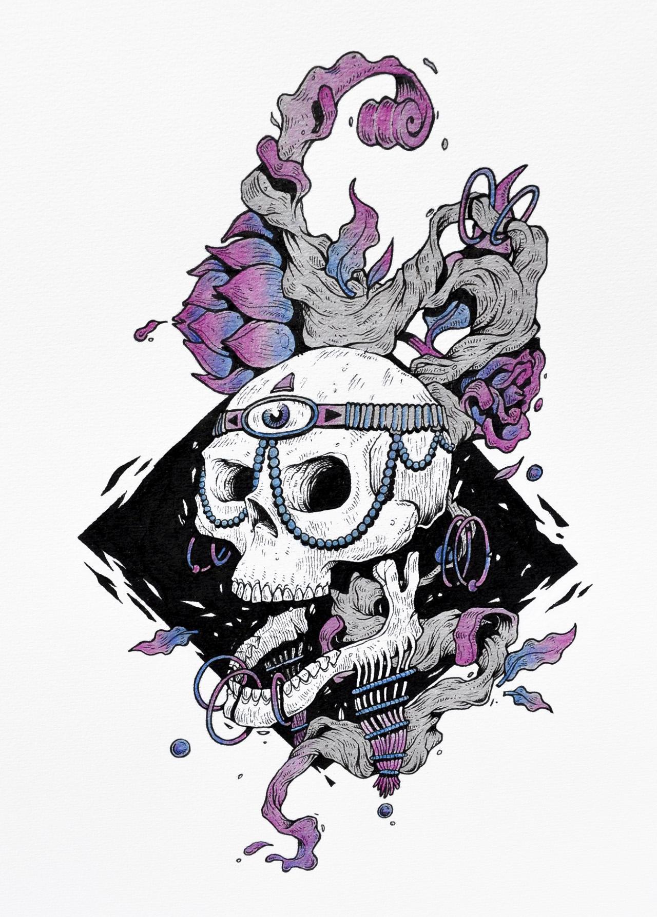 African skull - Plot