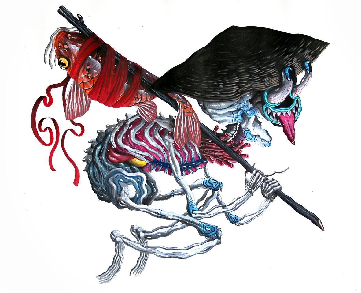 Allegorie 0 - Gardien Voyageur