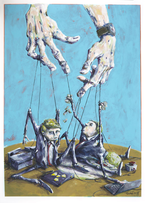 Les Marionnettes - Nicolas Thomas