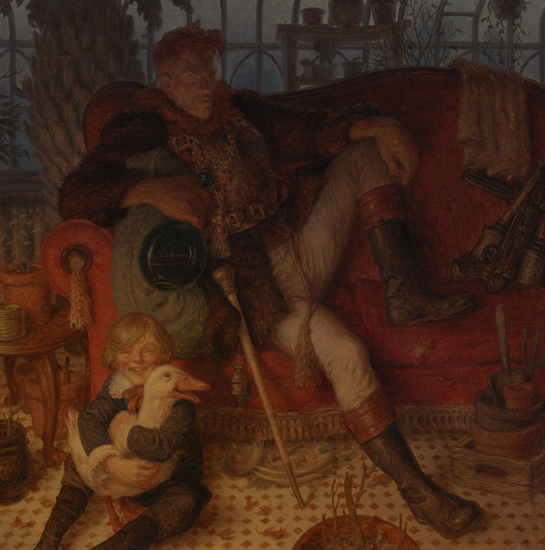 Black Regent of Labrador - Peter ferguson