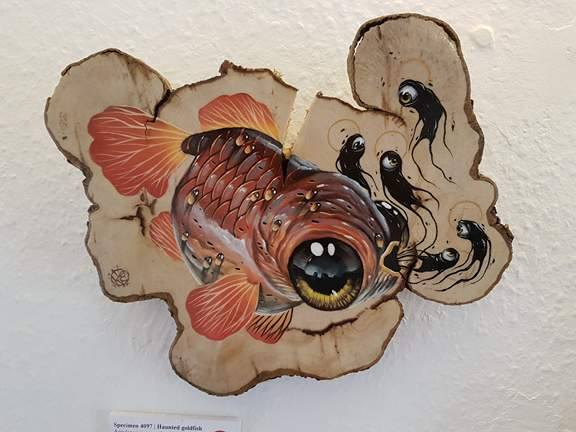 Specimen 4097 | Haunted Goldfish - Veks Van Hillik