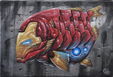 Ironfish - Veks Van Hillik