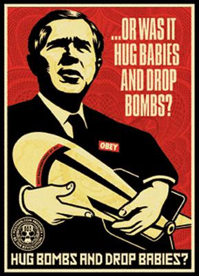 Hug Bombs - Shepard Fairey