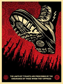 Tyrant Boot - Shepard Fairey