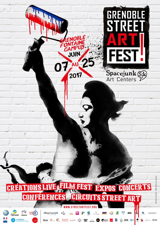 grenoble street art fest 2017 | spacejunk art centers