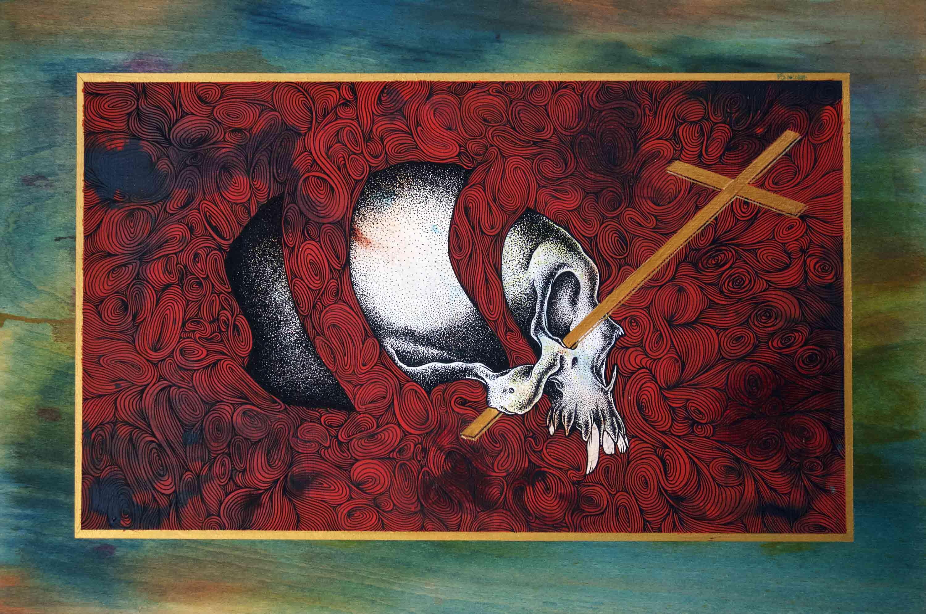 skull cross- Odö