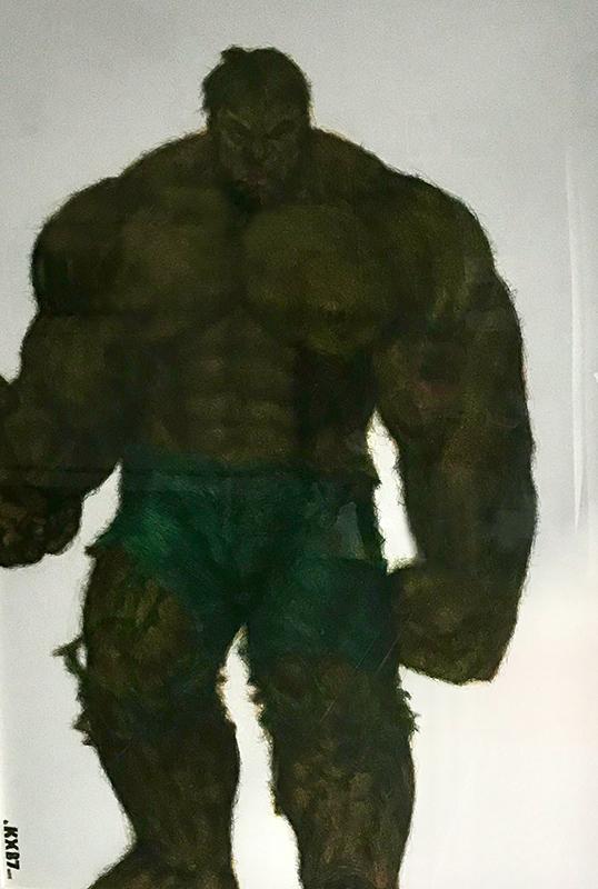 Hulk - Karl Beaudelere