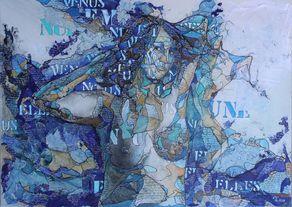 Michelle Lacoste - Vénus sortant des eaux