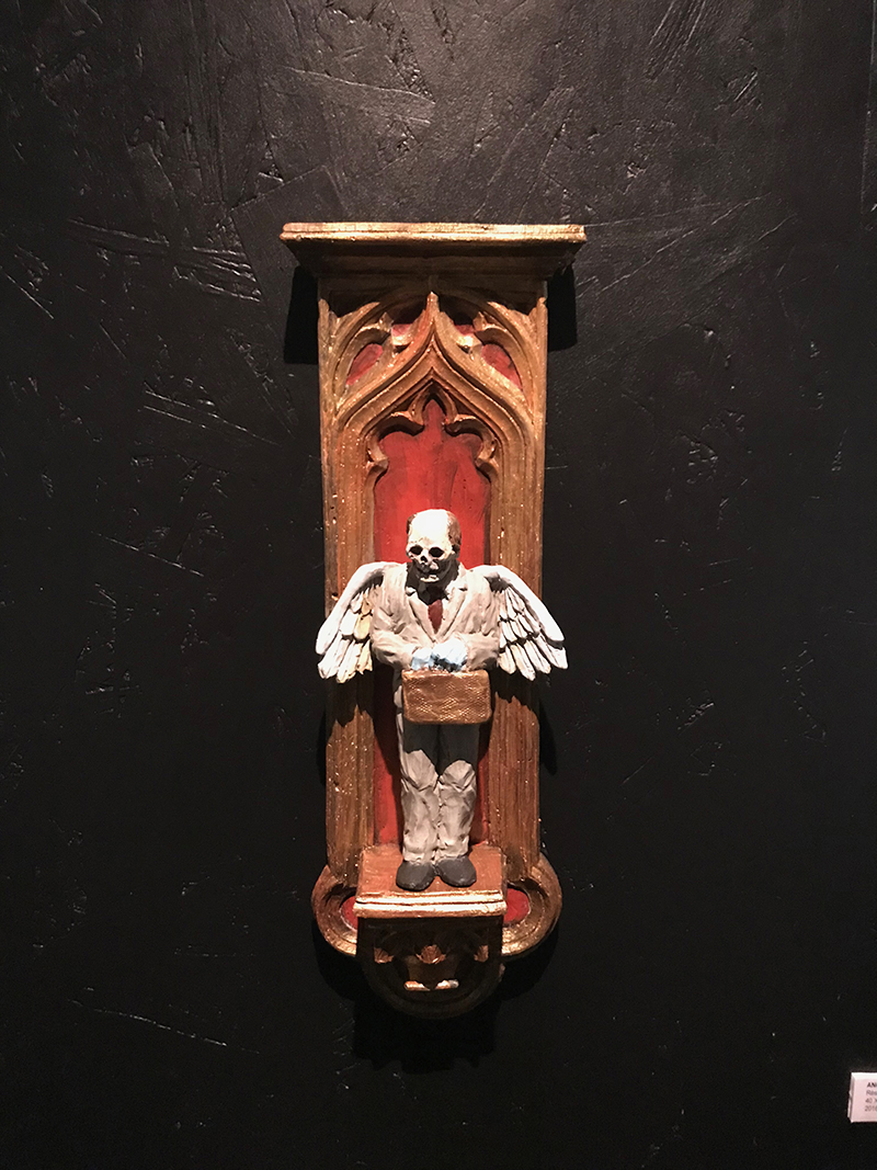 Isaac Cordal - Angel