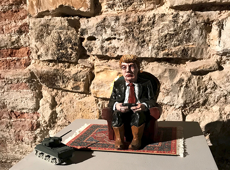 Isaac Cordal - Game of Thrones