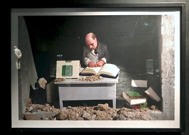 Isaac Cordal - The Scrivener