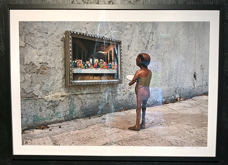 Isaac Cordal - The Last Supper