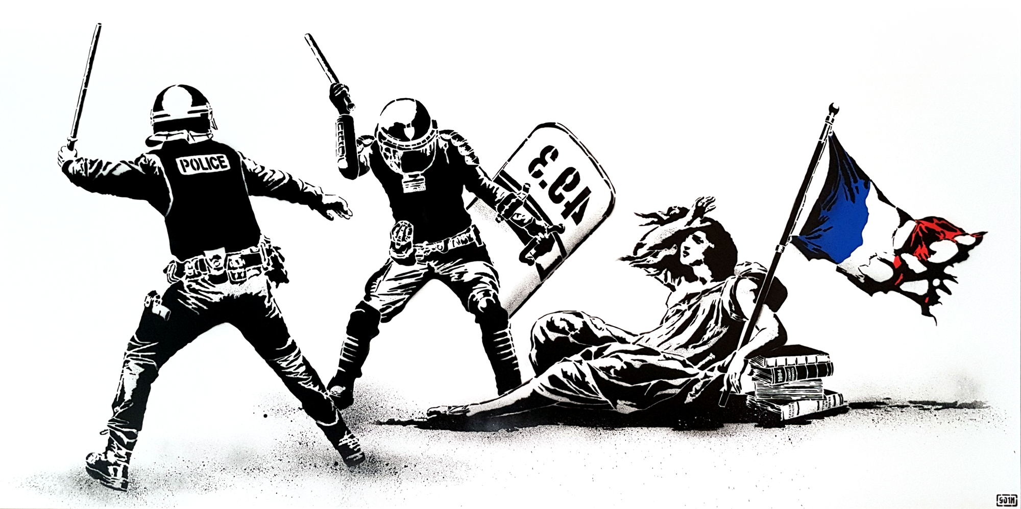 L'état Matraquant La Liberté