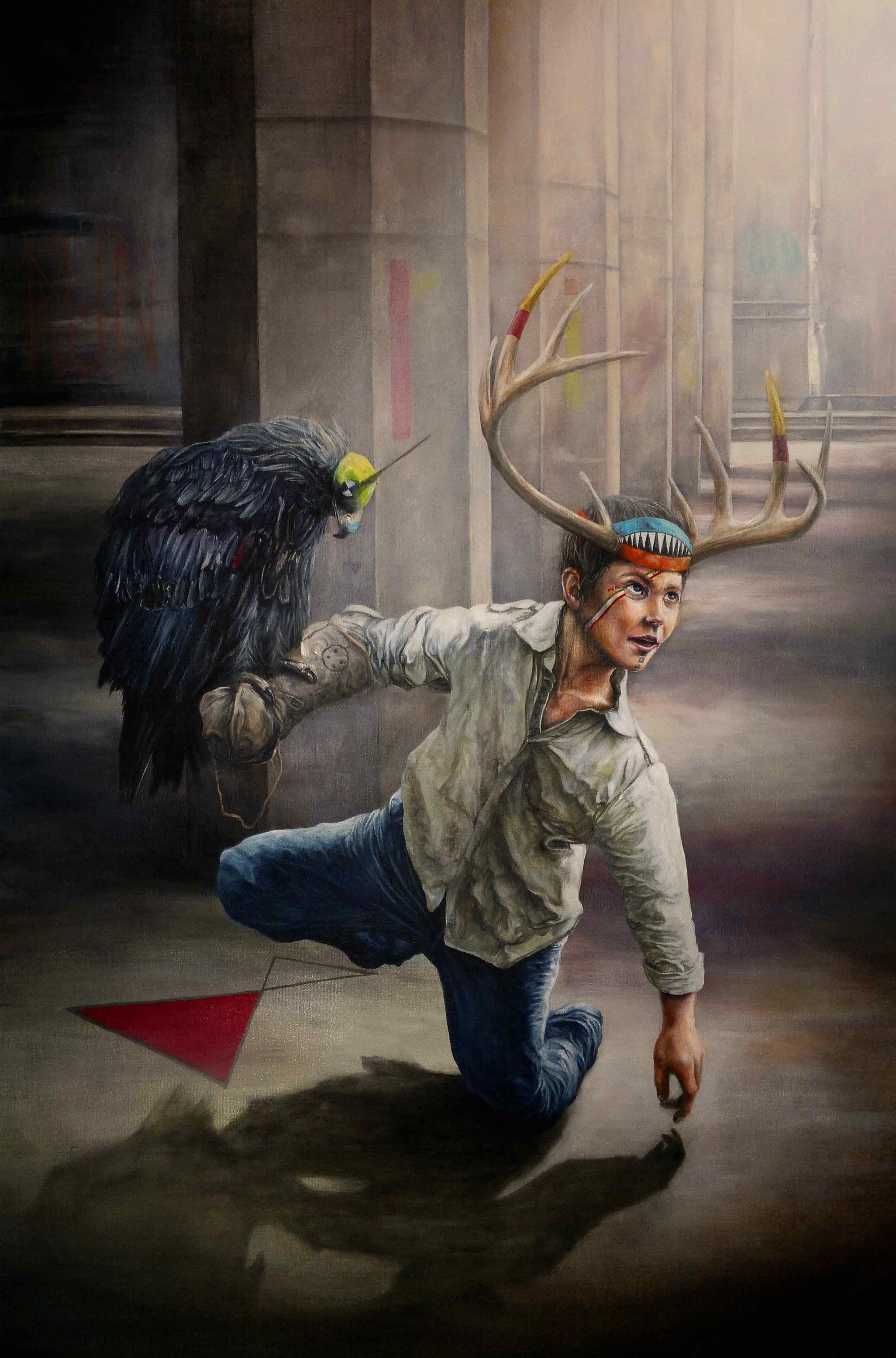 JONATHAN OUISSE - Falcon boy