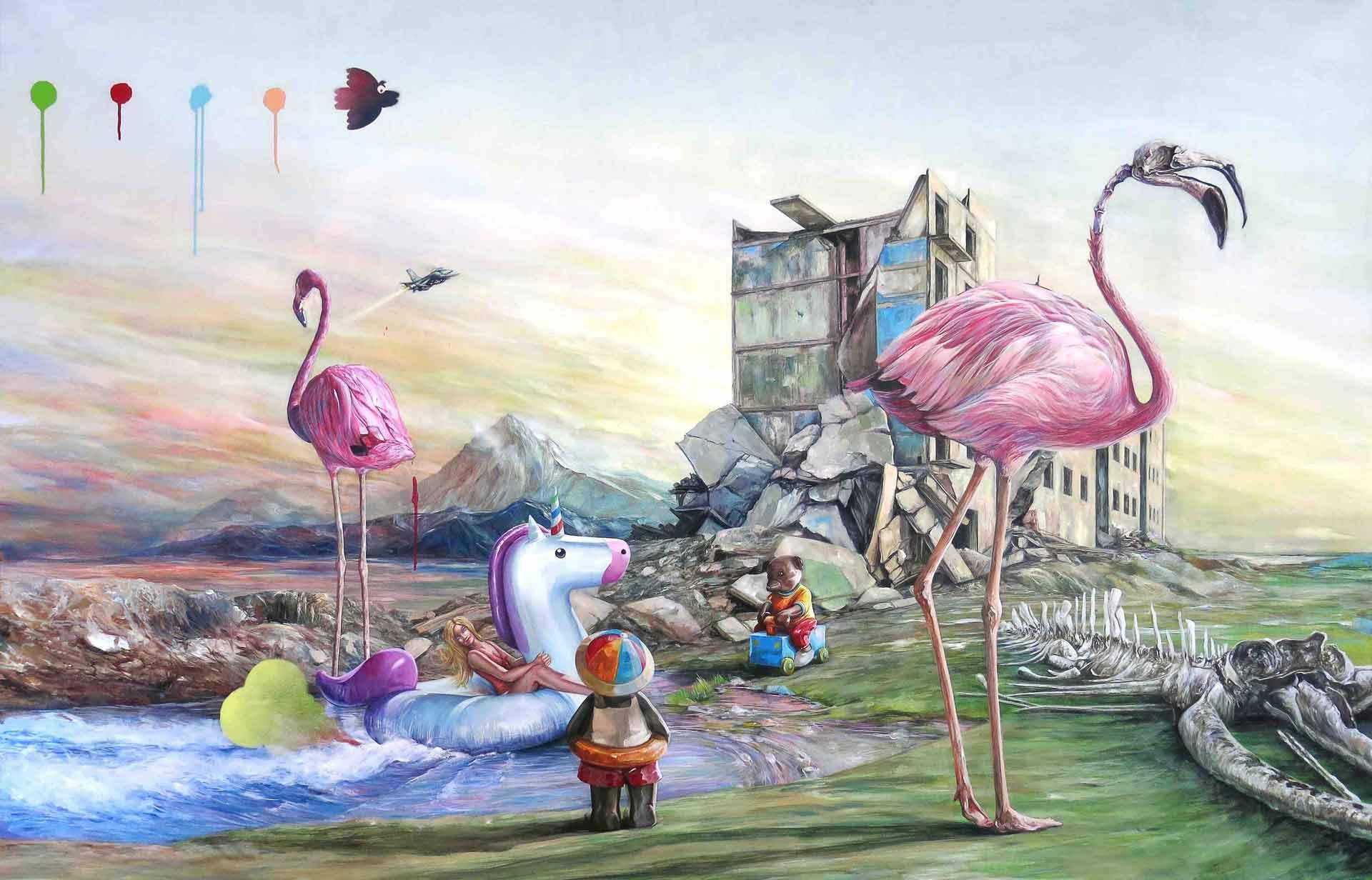 Jonathan OUISSE - Flamingos