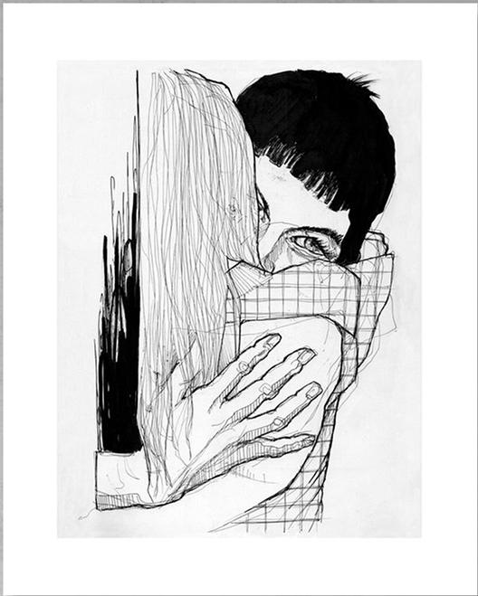 Léa Nahon - L'étreinte