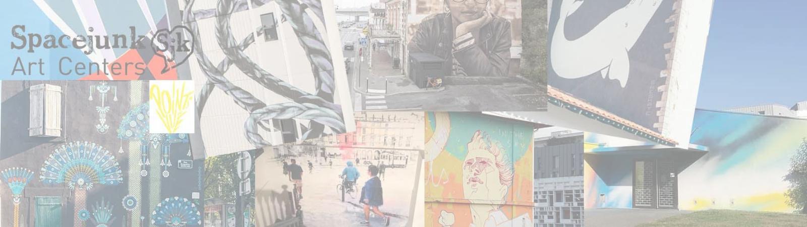 À pieds ou à vélo venez découvrir le street art à Bayonne avec Spacejunk !