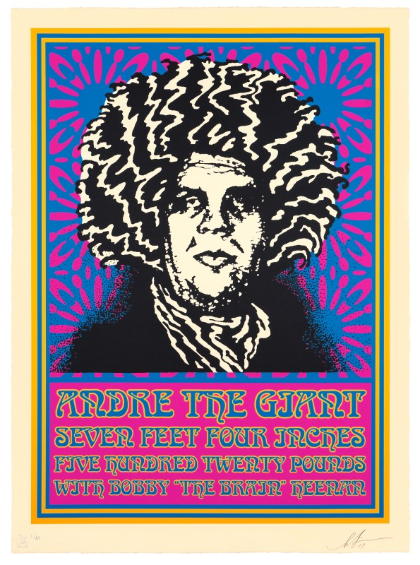 Andre Psychedelic | SHEPARD FAIREY