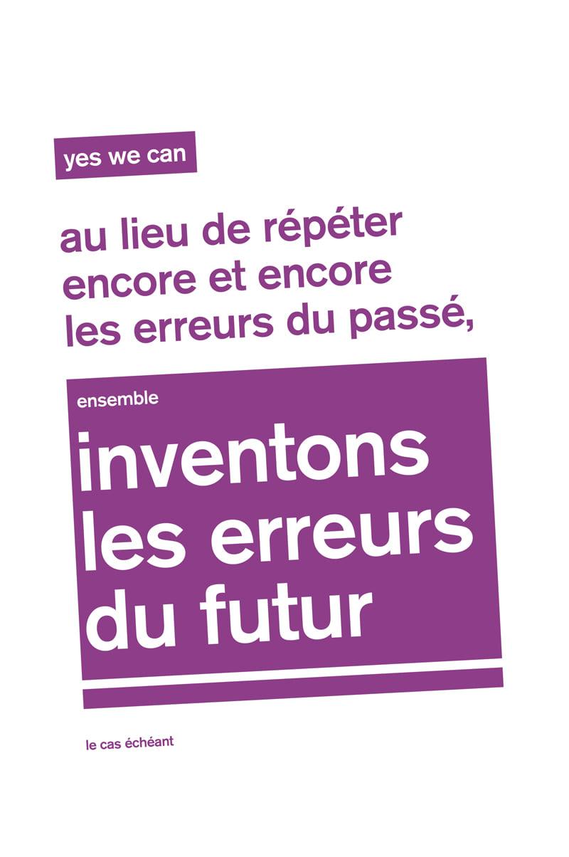 Inventons les erreurs du futur (Cobie) | Géopol'art 2021