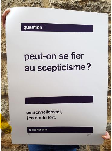 le scepticisme (2018) | Cobie
