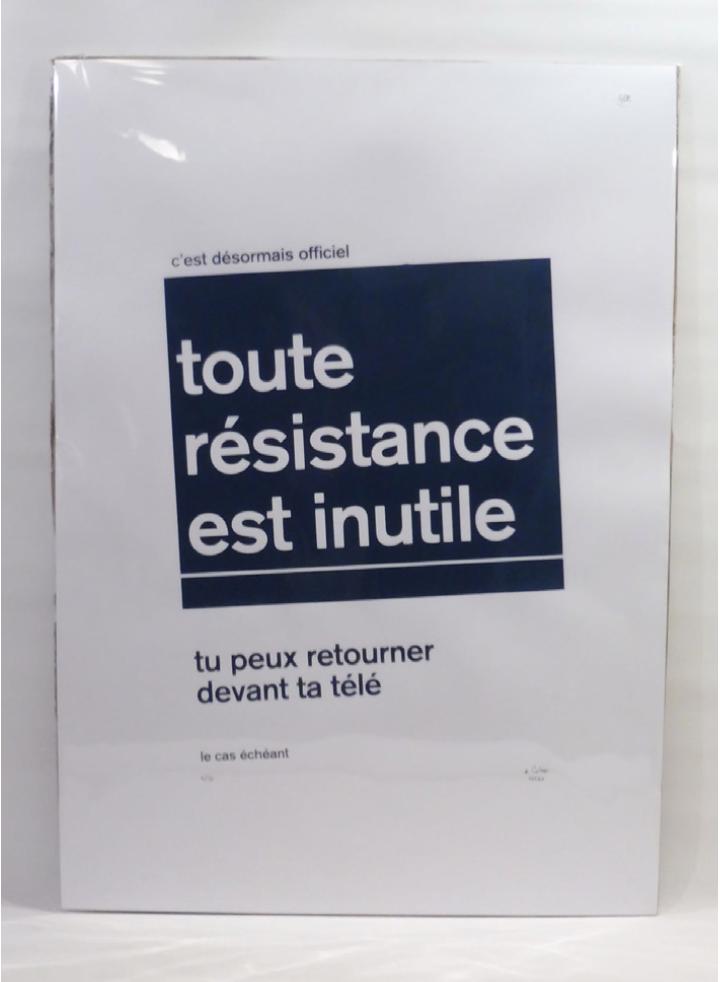toute résistance est inutile (2020) |Cobie