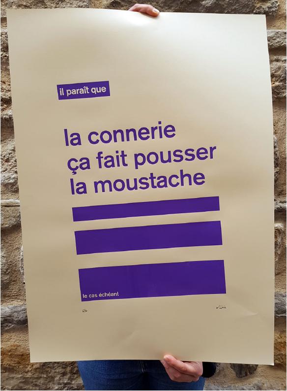 connerie & moustache (2016) | Cobie