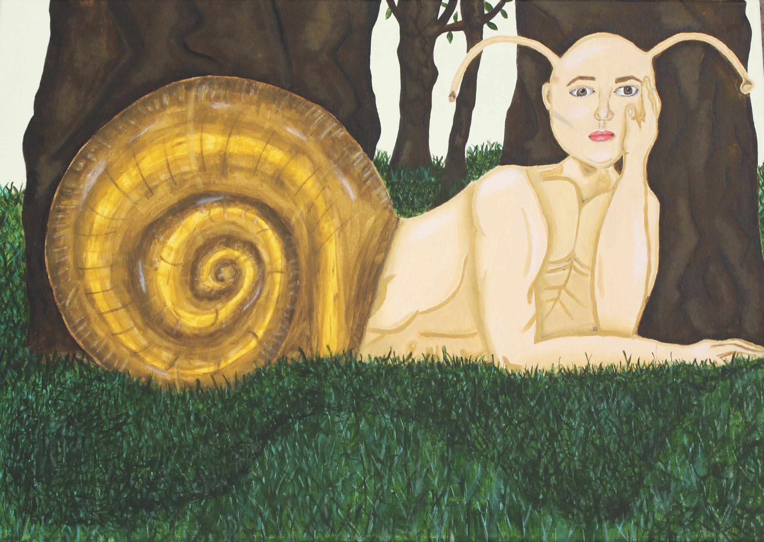 A natural snail house | Géopol'art 2021