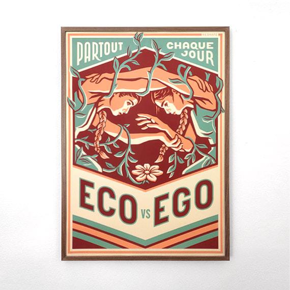 Eco vs Ego (Reskate) | Géopol'art 2021